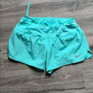 Nike Dri-fit running shorts. NWOT. Worn only once.